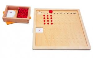 Tables multiplication Montessori