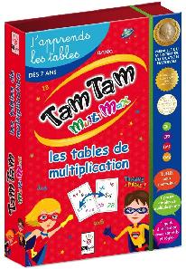 tam-tam-multimax-tables de multiplication