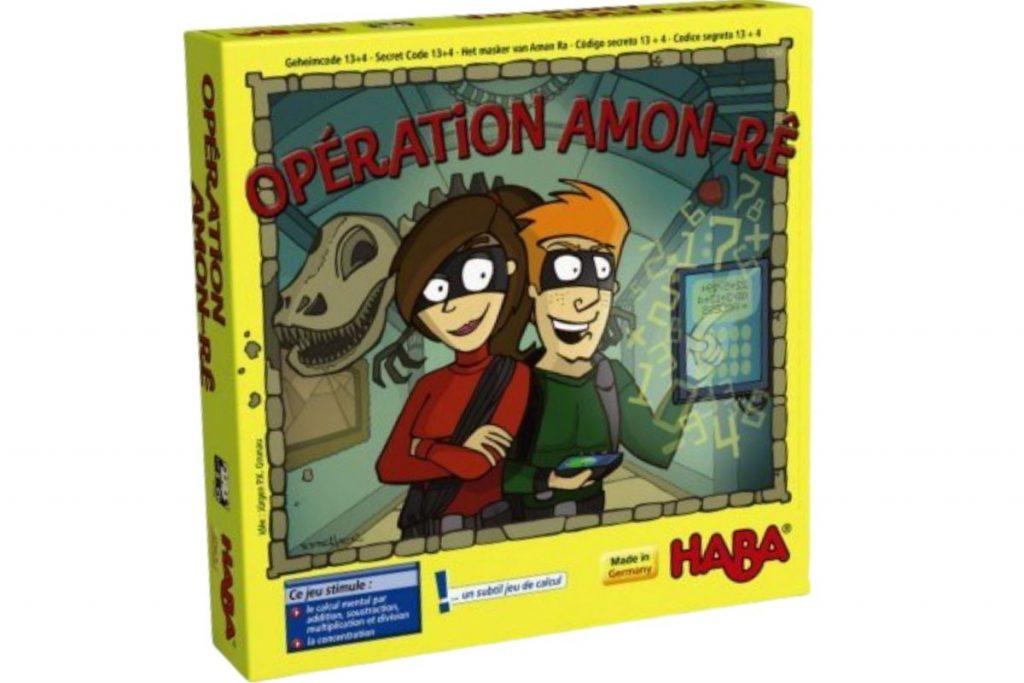 Opération Amon-Rê Haba jeu calcul