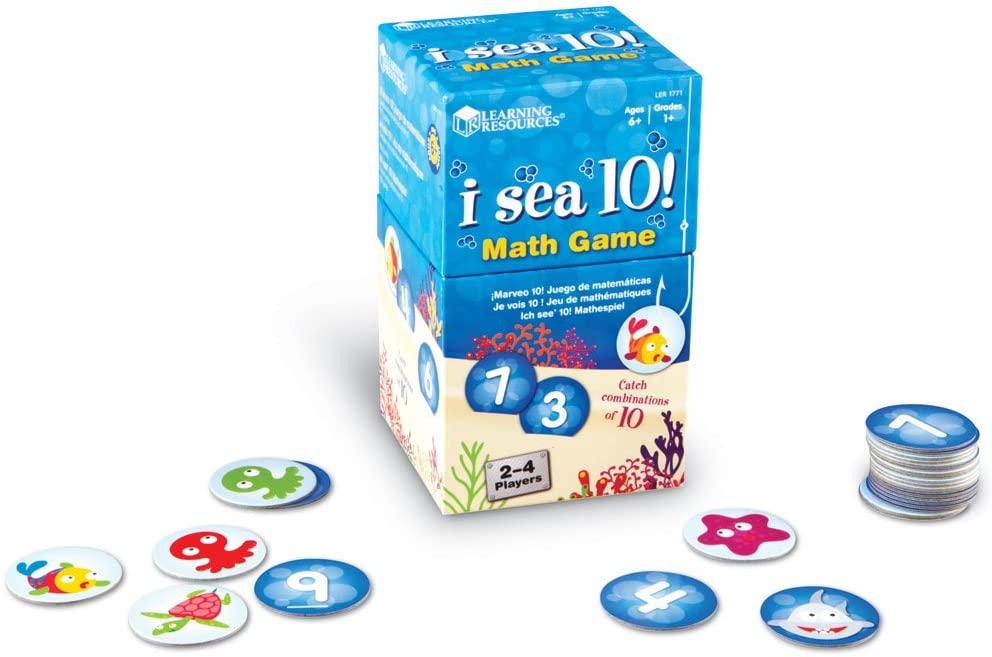 I sea 10 avec cartes