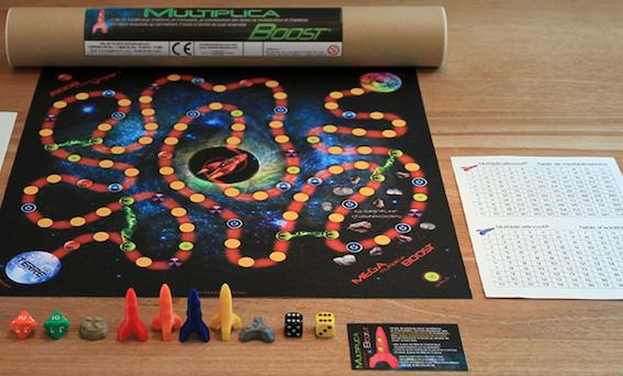 MultiplicaBoost - jeu de calcul mental