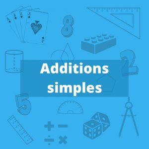 Additions simples