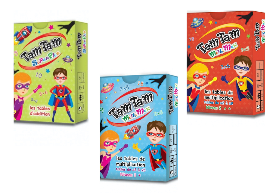 Jeux Tam Tam SuperPlus et Tam Tam MultiMax