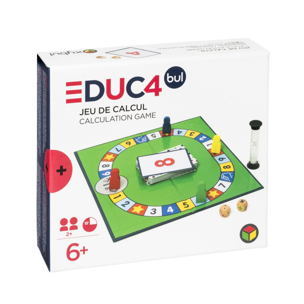 Educ4 Jeu de Calcul mental - Oxybul Eveil et Jeux